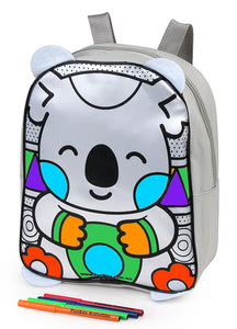 Colour Me In Koala Backpack