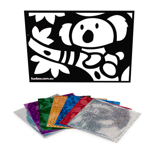 Koala Foil Art Activity Pack