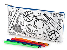 Load image into Gallery viewer, Colour-In Sporty Pencil Case