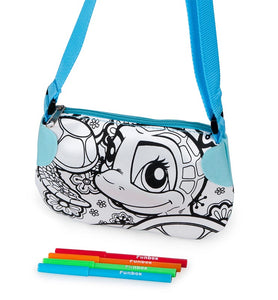Colour Me In Turtle Handbag