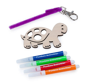 Tortoise Bag Tag Set