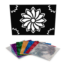 Load image into Gallery viewer, Flower Foil Art Activity Pack