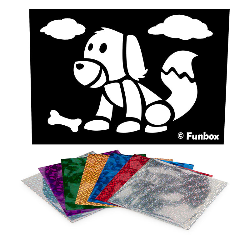 Pet Dog Foil Art Activity Pack