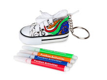 Load image into Gallery viewer, Super Cute Shoe Colour-In Keyring