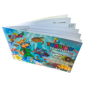 Activity Book - Benny and Koby Visit The Great Barrier Reef