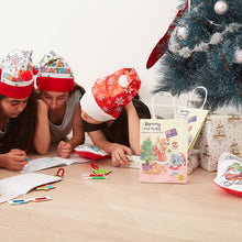 Load image into Gallery viewer, 3D Christmas Activity Bag with Activity Sheets
