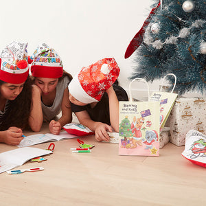 Christmas Activity Bag with Activity Sheets - Bulk Discounts Available