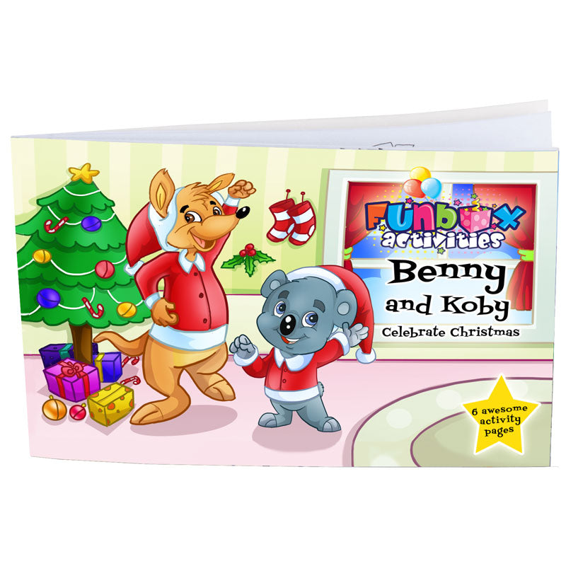 Christmas Activity Book - From 35c - EARLY BIRD SPECIAL - 10% OFF*
