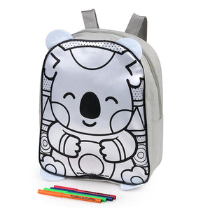 Koala Colour-In Backpack
