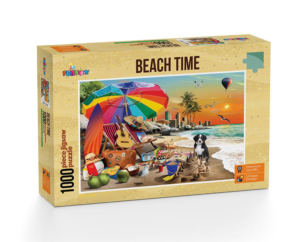 Beach Time Puzzle 1,000 pieces