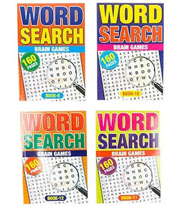 Adult Activity Book -Word Search 160 page