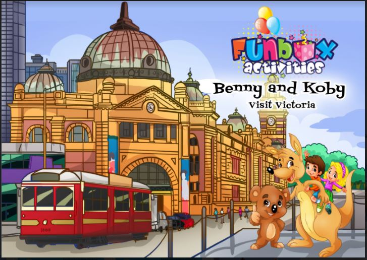 Eco Friendly Activity Book - Benny and Koby Visit Victoria (Box of 250)