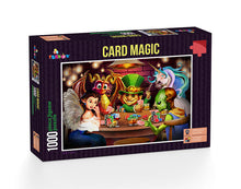 Load image into Gallery viewer, Card Magic 1000pc