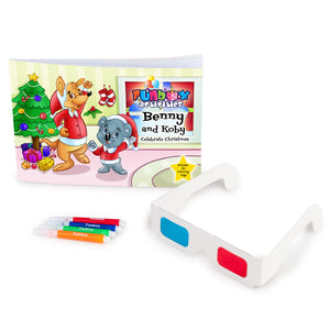 Christmas 3D Activity Book - Only 99c