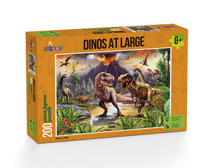 Dino's at Play - 200 Pieces