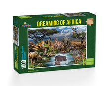 Load image into Gallery viewer, Dreaming of Africa 1000 Piece Jigsaw Puzzle