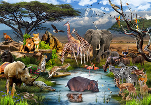 Dreaming of Africa 1000 Piece Jigsaw Puzzle