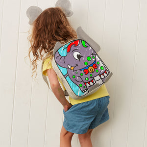 Elephant Colour-In Backpack