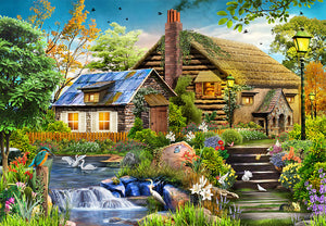 Flos Cottage 1000 Piece Jigsaw Puzzle