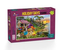 Load image into Gallery viewer, Holiday Days - Fishing Puzzle 1000 Pieces