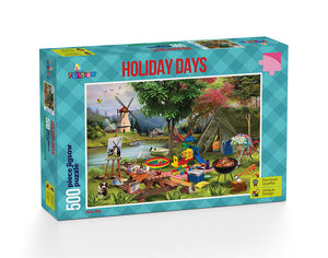 Holiday Days: Camping - 500 Pieces