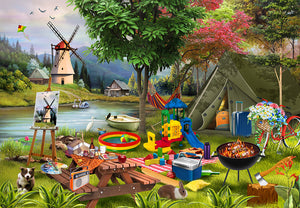 Holiday Days: Camping - 500 Pieces : Due Start June