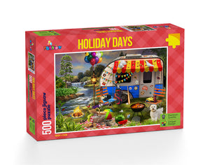 Holiday Days: Caravanning Jigsaw Puzzle 500 Pieces