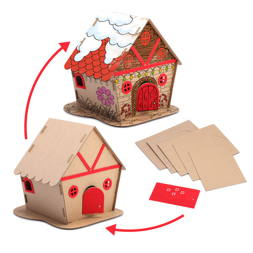 Eco Friendly Christmas House Kit