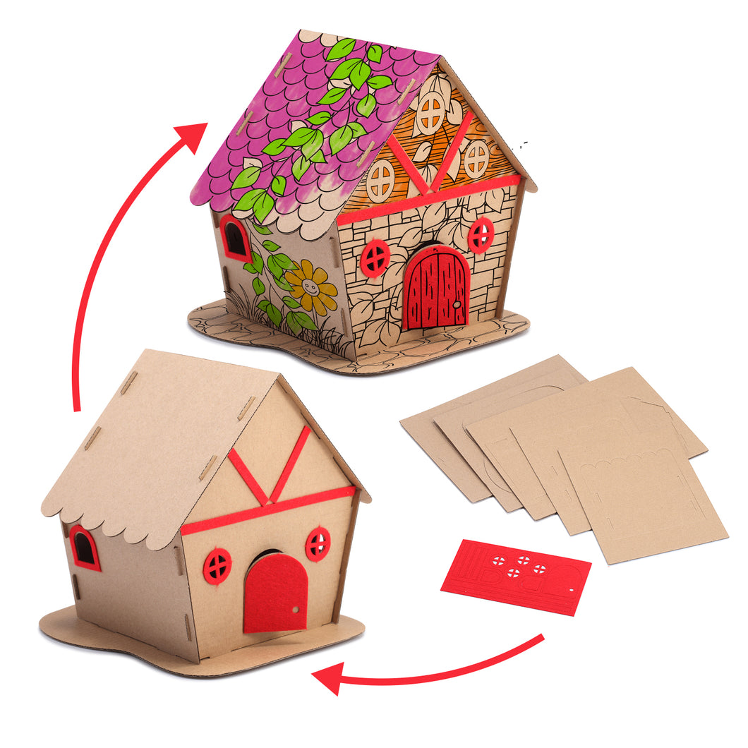 Eco Friendly DIY Fairy House Kit