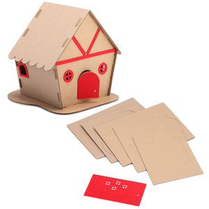 Ec Friendly Christmas House Kit