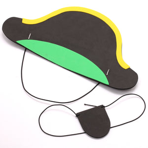 DIY Pirate Hat and Eye Patch!