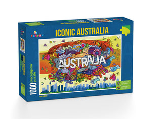 Iconic Australia 1000 Pieces