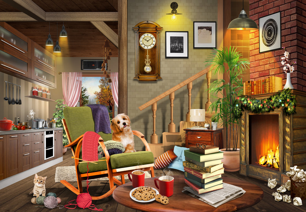 Inside Merle's Cottage