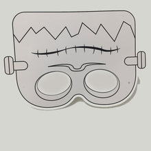 Load image into Gallery viewer, Monster Colour-In Mask - from 49c