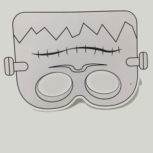 Monster Colour-In Mask - from 49c
