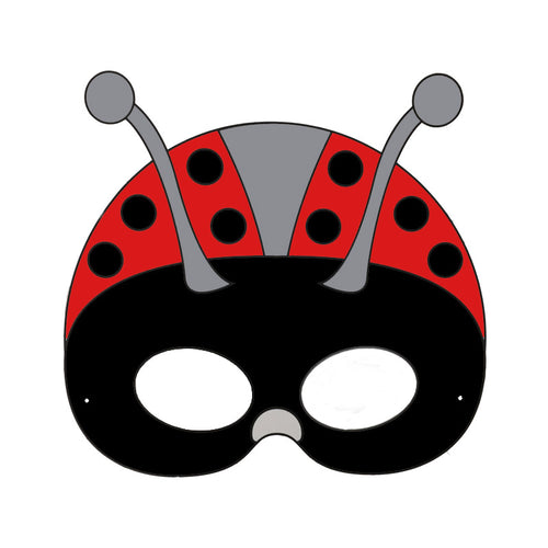 Ladybug Colour in Mask - from 49c