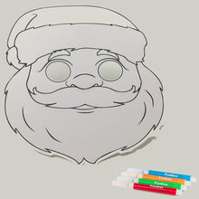 Load image into Gallery viewer, Santa Colour-In Mask - from 49c