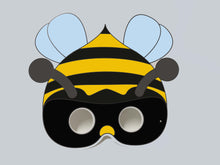 Load image into Gallery viewer, Bumble Bee Colour-In Mask - from 50c