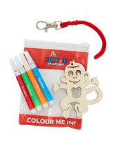 Load image into Gallery viewer, Monkey Bag Tag Set