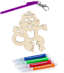 Monkey Bag Tag Set
