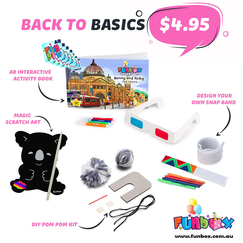 Boredom Buster - Back to Basics Kit
