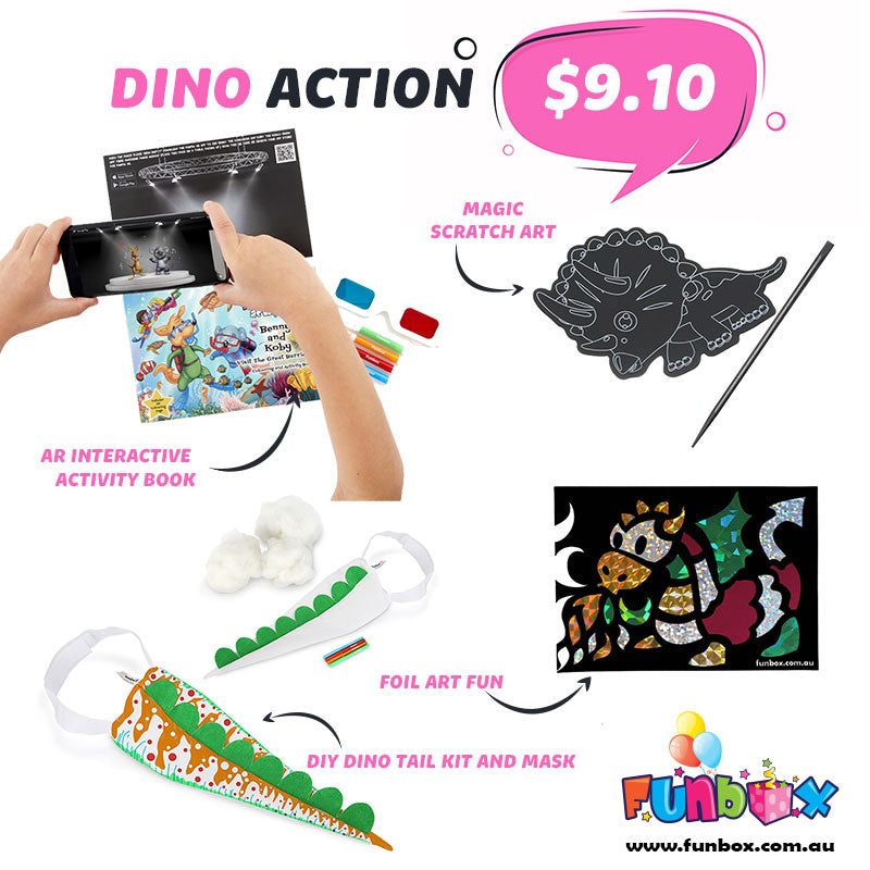 Boredom Buster - Dino Action Kit