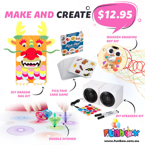 Boredom Buster - Make and Create Kit
