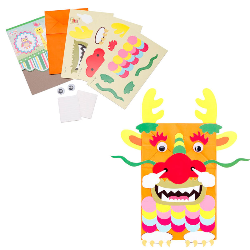 Dragon Paper Bag Kit - from 99c