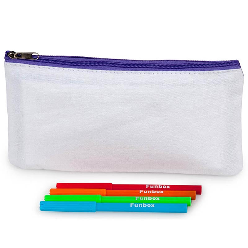 Canvas Fabric Pencil Case