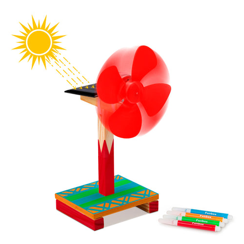 DIY Solar Windmill Kit