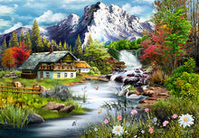 Load image into Gallery viewer, Perfect Places: The Mountain View Jigsaw 1000 Pieces