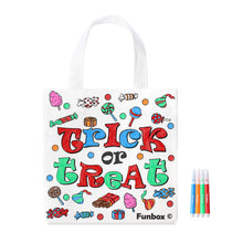 Load image into Gallery viewer, Halloween Themed Tote Bag With Texters - From 99c