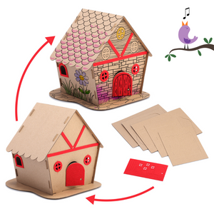Eco Friendly DIY Bird House Kit