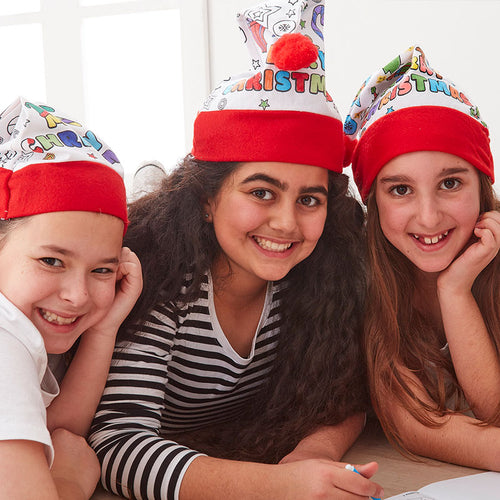 Colour In Santa Hat - Bulk Discounts Available